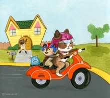 susie_lee_jin_cat_scooter